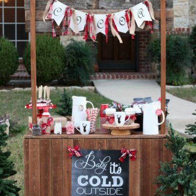 Hot Cocoa Stand – Share the Joy