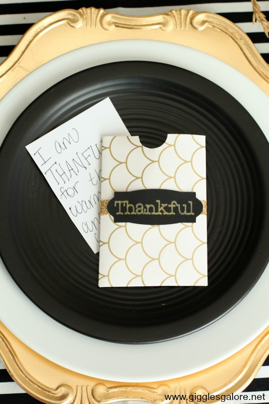 I am Thankful for envelopes