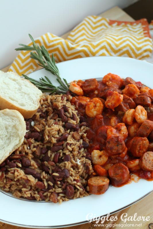 Louisiana Creole and Red Beans and Rice