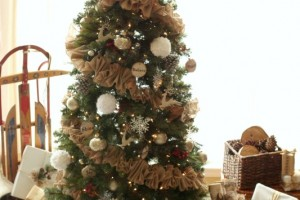 Dream Tree Challenge – Rustic Reindeer Christmas Tree