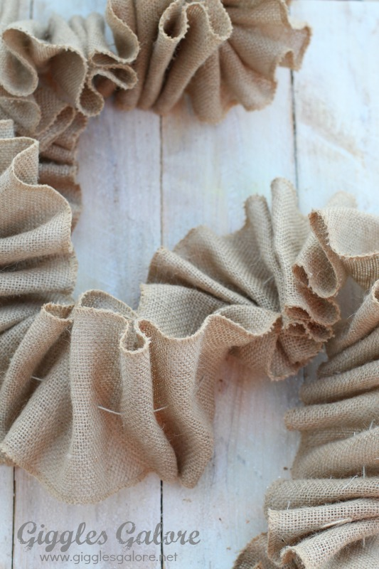 Ruffle Garland Tutorial