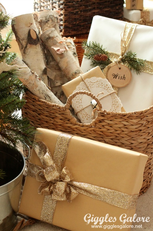Rustic Reindeer Wrapping Paper