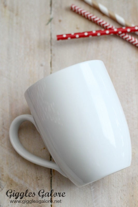White Mugs from World Market