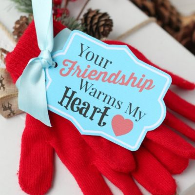Your Friendship Warms My Heart Gift Tags