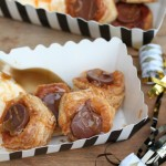 Chocolate Caramel Puff Pastry Bites