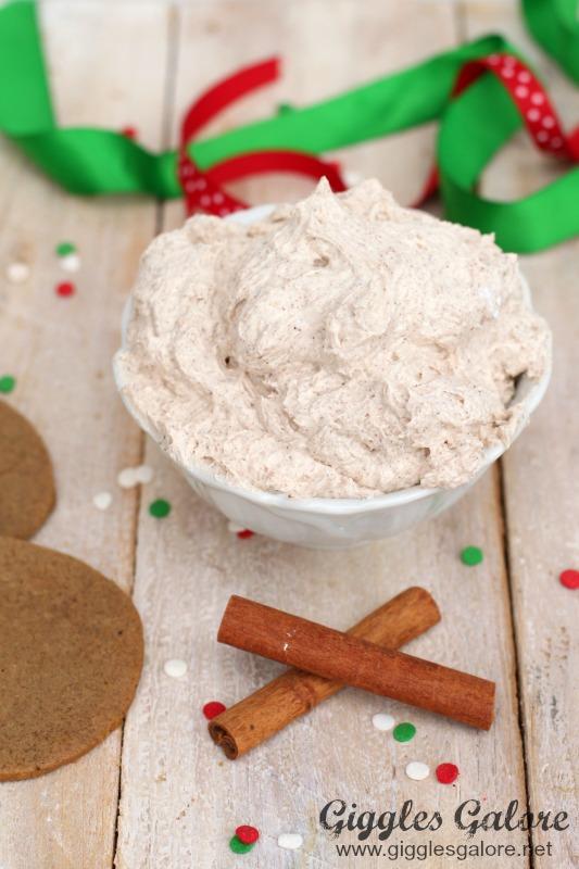 Cinnamon Gingerbread Frosting