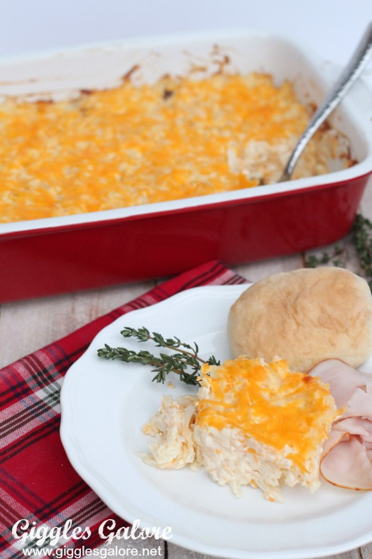 Holiday Cheesy Potato Casserole