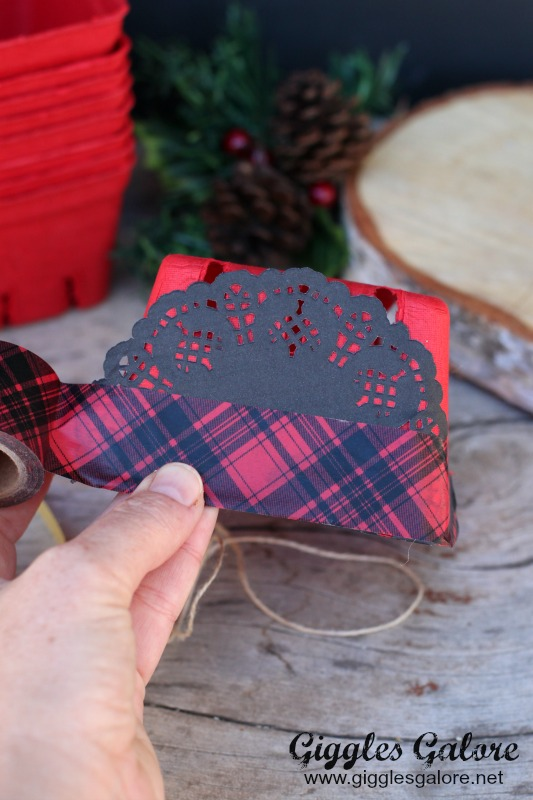 Red and Black Plaid Washi Tape