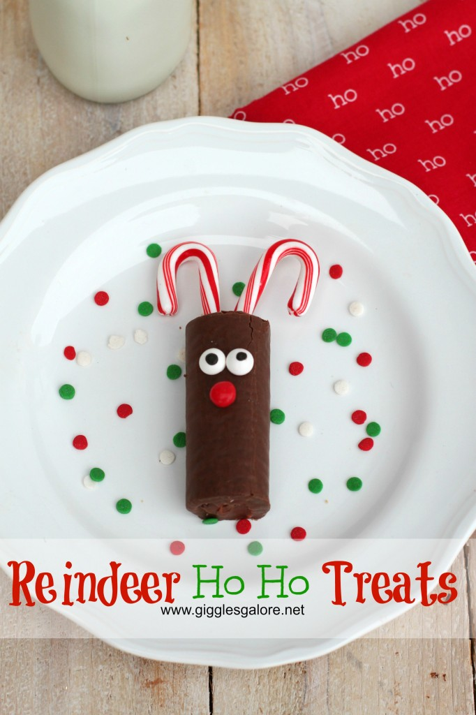 Reindeer Ho Ho Treats by Giggles Galore