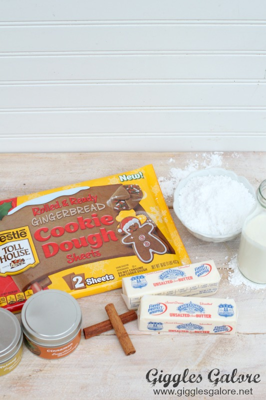 Rolled & Ready Gingerbread Cookie Dough Sheets