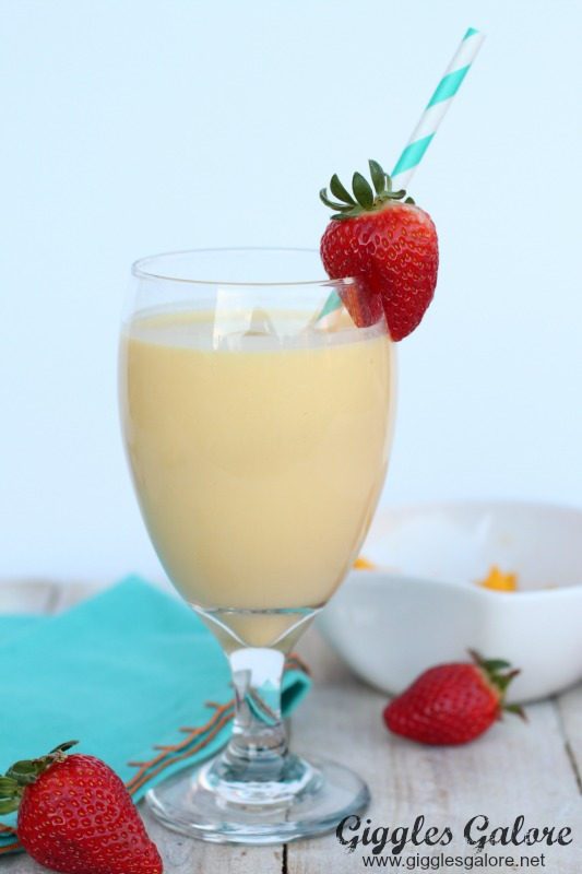 Easy Creamsicle Breakfast Smoothie