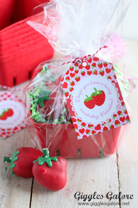 Berry Sweet Valentine Printable and Gift Idea