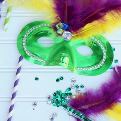 DIY Mardi Gras Masks