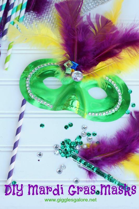DIY Mardi Gras Masks_Giggles Galore