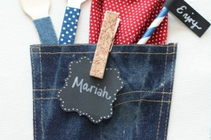 Denim Placemat with Pocket – Michaels Make Market