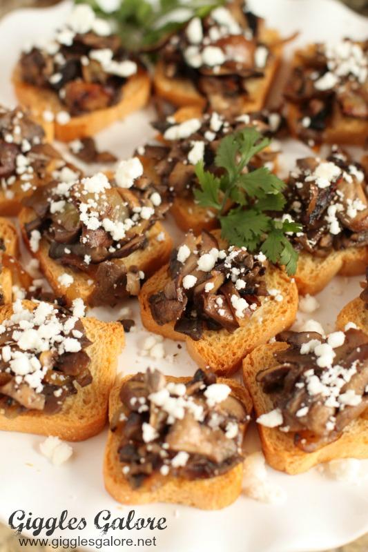 Mushroom Tart Appetizers
