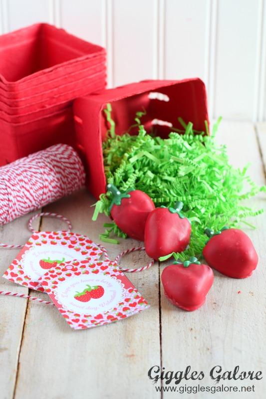 Oreo Truffle Berry Sweet Valentine Gift