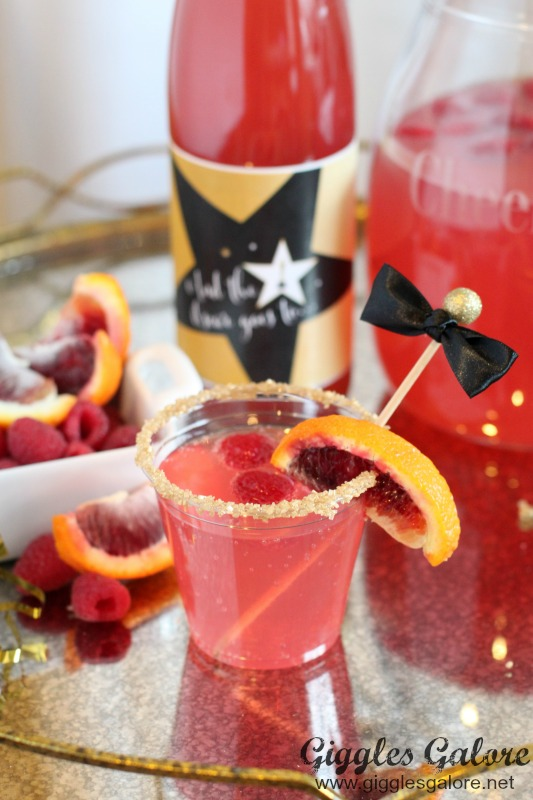 Oscar Party Blood Orange Cocktail