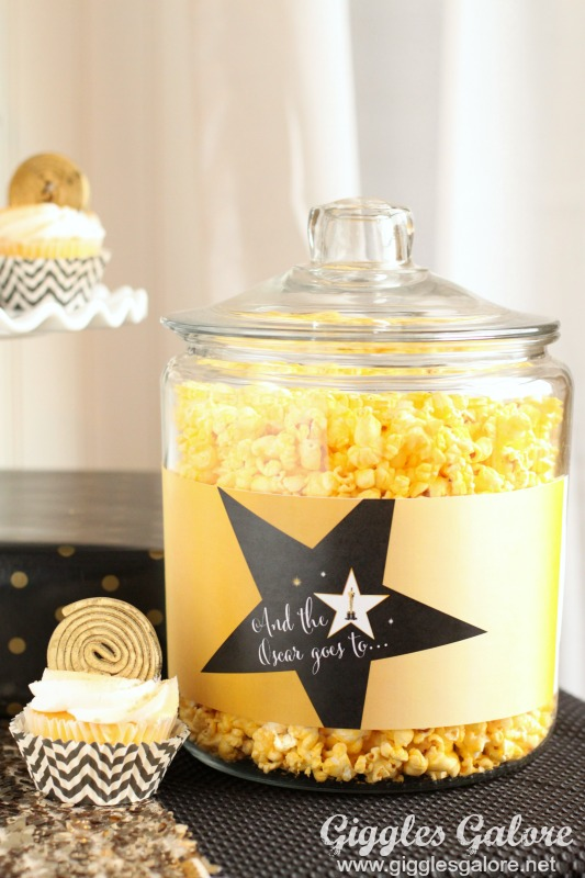 Oscar Party Entertaining_Popcorn