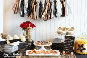 Glam Oscar Party Ideas