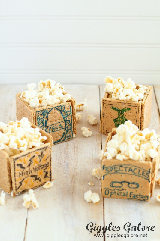 The Boxtrolls Movie_Edible Popcorn Boxes