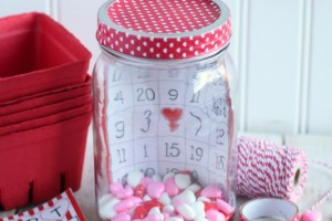 Valentine Bingo In a Jar