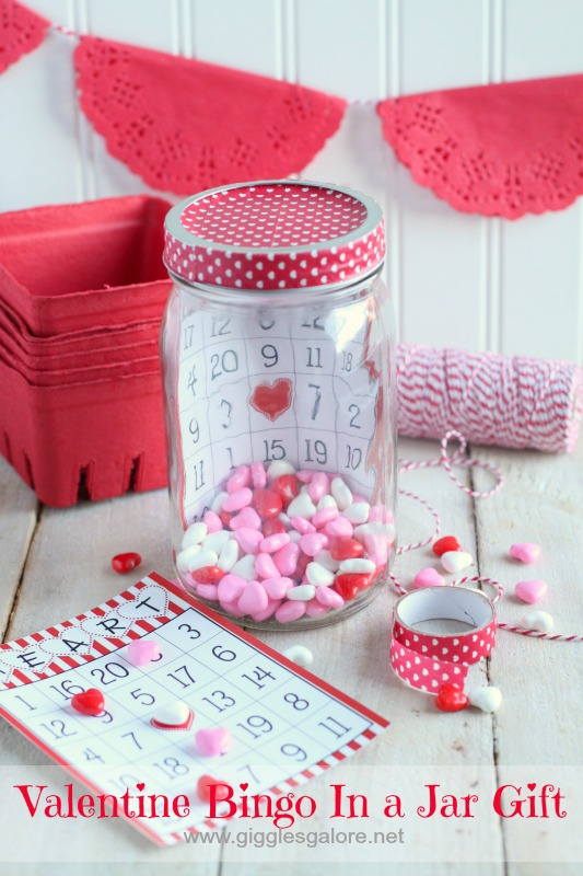 Valentine's Day Bingo Jar