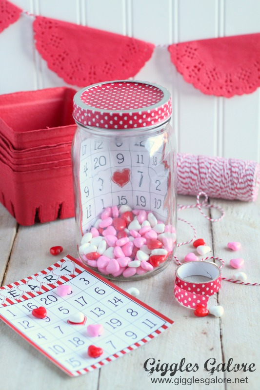 Valentine Bingo In a Jar_Giggles Galore