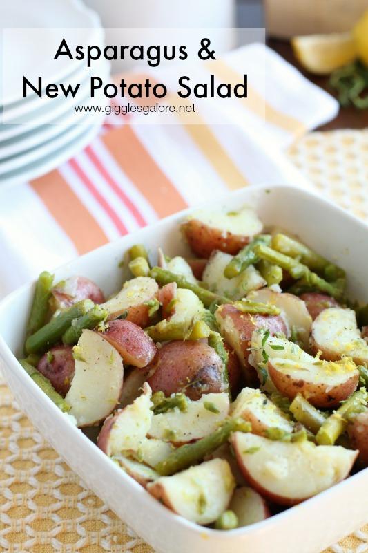 Asparagus & New Potato Salad_Giggles Galore