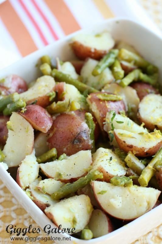 Asparagus Potato Salad Recipe