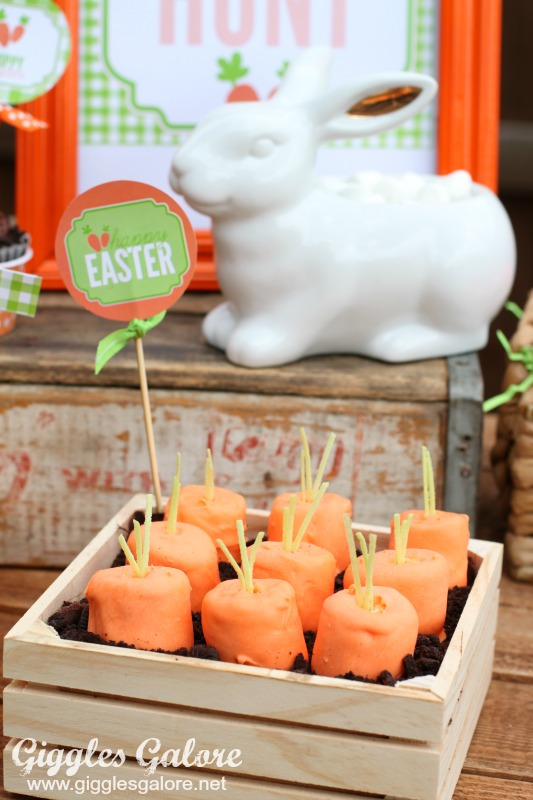 Carrot Patch Marshmallows