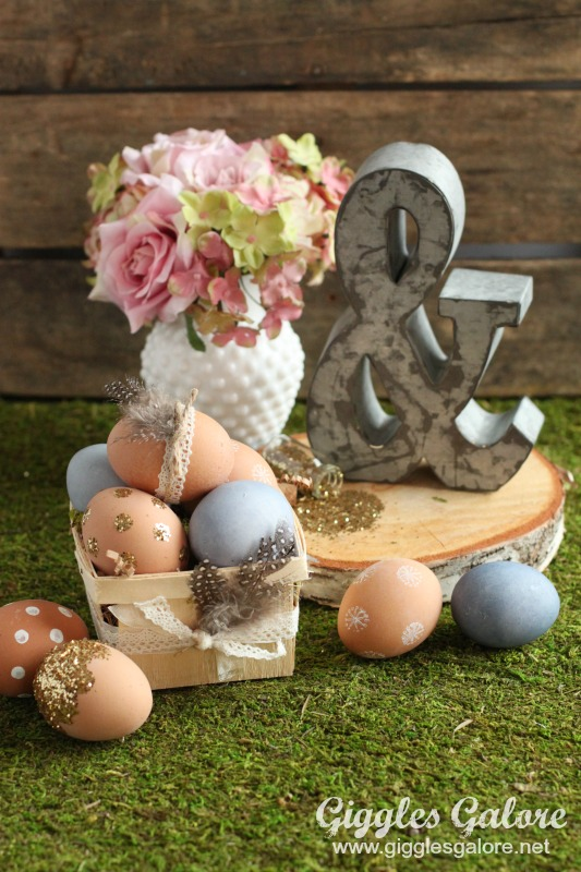 Decorating Ideas Natural Easter Eggs