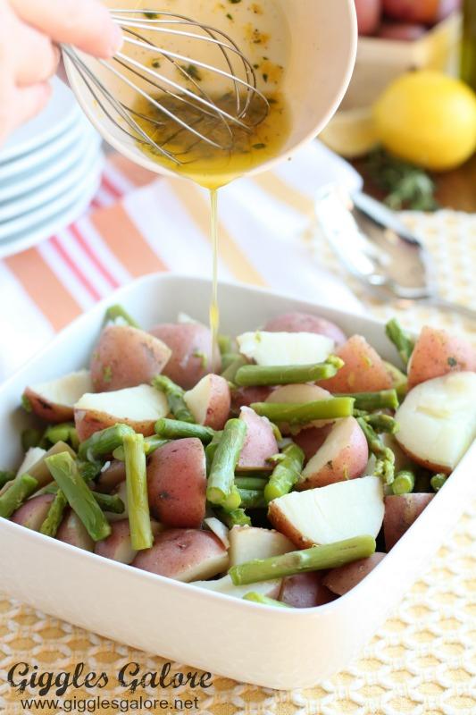 Dressing for Asparagus Potato Salad