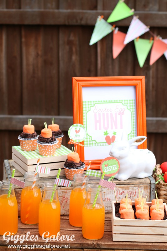 Pin This Easter Egg Hunt Party Food