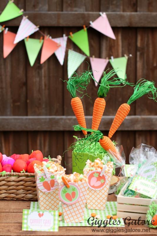Easter Egg Hunt Party_Carrot Cake Bunny Bait