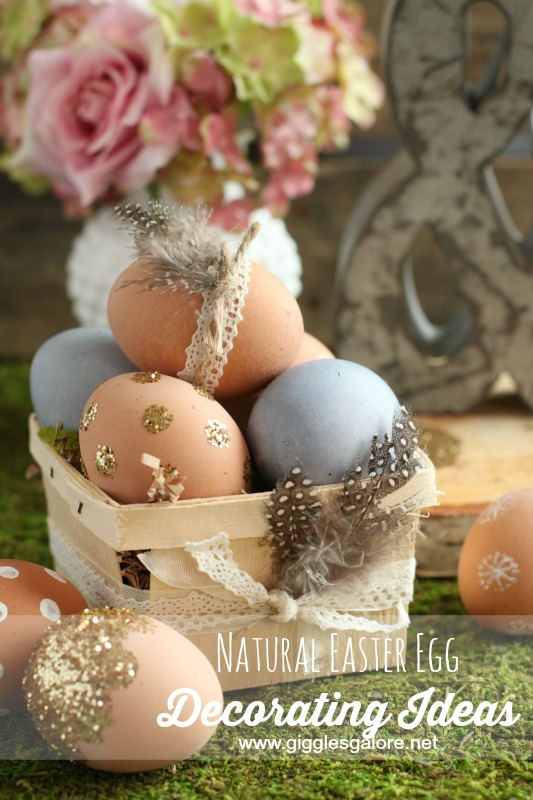 Natural Easter Egg Decorating Ideas_Giggles Galore