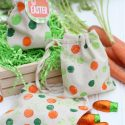 Painting with Carrots Polka Dot Easter Bags