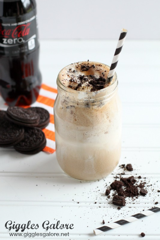 Slam Dunk Coke Float Crushed OREO Cookies