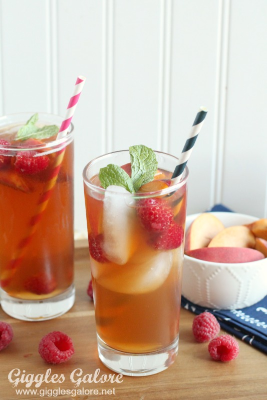 The Perfect Peach Tea