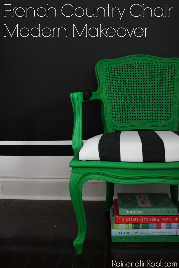 french-country-chair-modern-makeover
