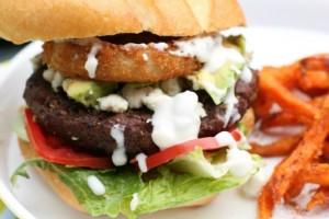 Blue Cheese Buffalo Burger Recipe