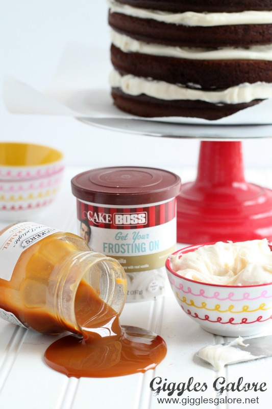 Cake Boss Vanilla Icing Recipe : Naked Chocolate Cake with Salted Caramel Frosting