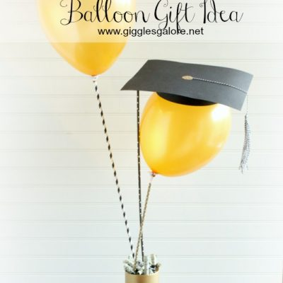 DIY Graduation Cap Balloon Gift