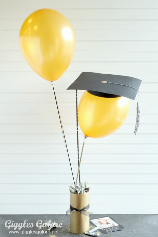 DIY Graduation Balloons