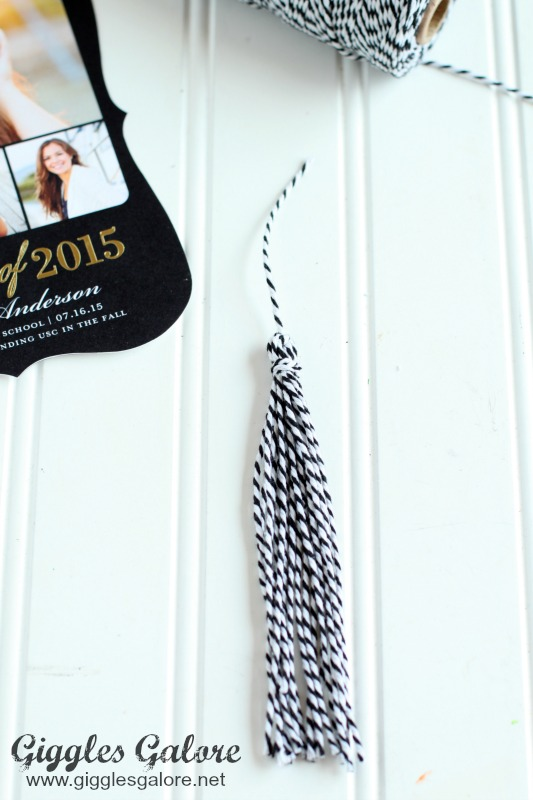 DIY Graduation Cap Tassle