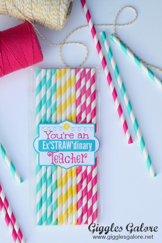 ExSTRAWdinary Striped Straws_Giggles Galore