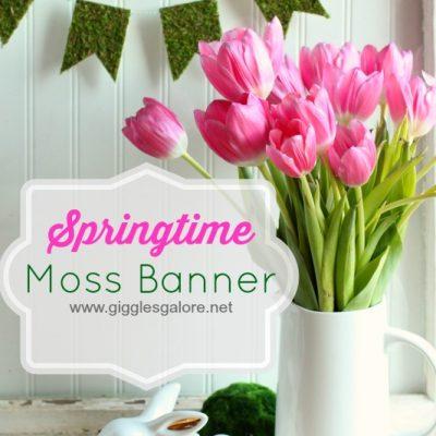 Springtime Moss Banner