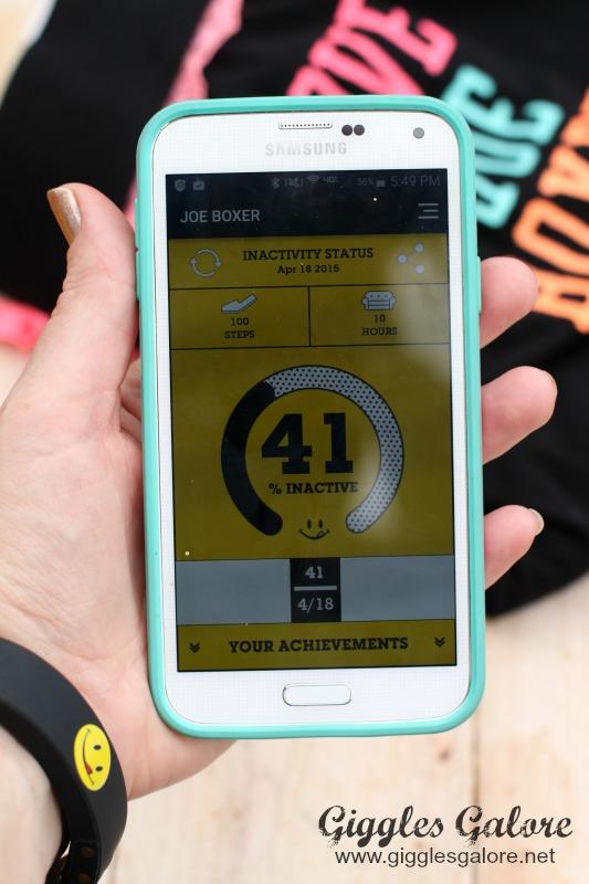 Inactivity Tracker App