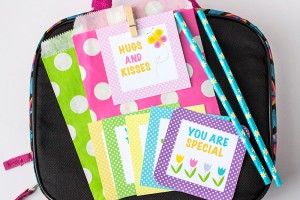 Springtime Lunch Box Notes