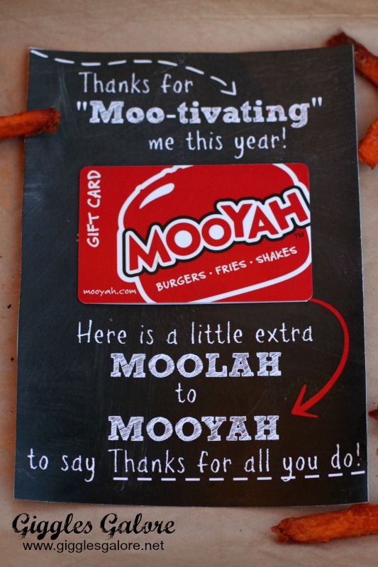 MOOYAH Teacher Appreciation Gift Idea_Giggles Galore